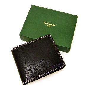 Paul Smith(ポールスミス)ブラック ピックスキン財布|jfulstore