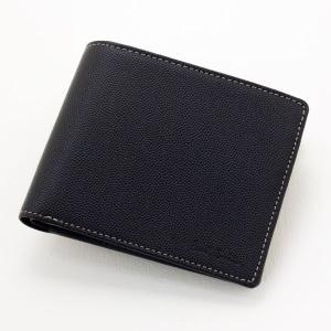 Paul Smith カラーブロック二つ折り財布(ブラック)|jfulstore