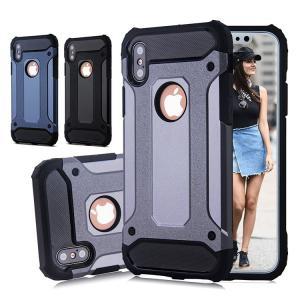 ■商品情報■ [品名]iPhoneX ケース 耐衝撃 防塵フタ付き 二重保護 TPU+PC保護カバー...