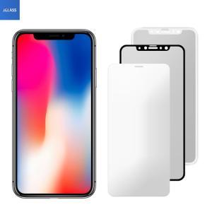 iPhone X ガラスフィルム iPhoneX 強化ガラス...