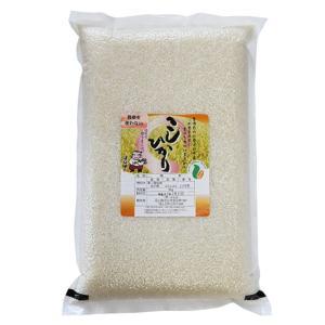 母の日 石川県産 2020年産 新米 特別栽培米 農薬を使わないこしひかり 白米5kg 精米 産地直...
