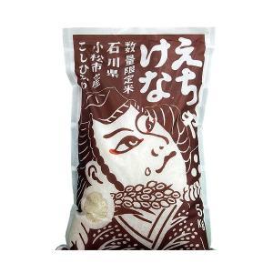 母の日 石川県産 2020 新米 えちゃけな米 精米 5kg  産地直送 代引き不可