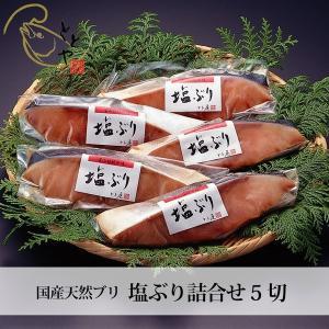 プレゼント  富山 とと屋  塩ぶり詰合せ 5袋  冷凍便 産地直送 人気 無添加
