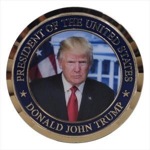 米大統領ドナルド・トランプ 記念メダル|jieitai-net