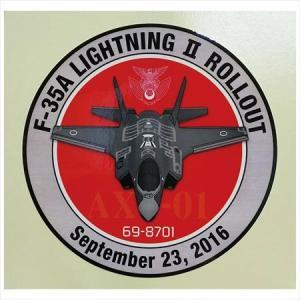 航空自衛隊・F-35ステッカー 初号機ロールアウト記念|jieitai-net