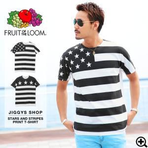 Tシャツ メンズ プリントTシャツ 半袖Tシャツ 星条旗柄 ...