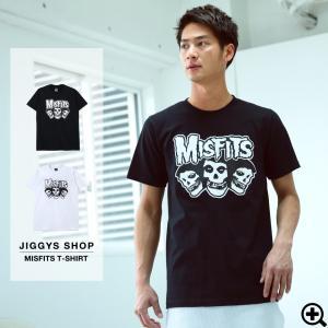 Tシャツ メンズ バンドT MISFITS ロゴプリントTシ...