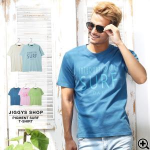 Tシャツ メンズ 半袖Tシャツ ロゴプリントTシャツ サーフ...