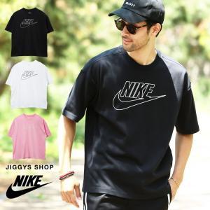 NIKE ナイキ フーチュラアイコン OVRSZ Tシャツ メンズ トップス カットソー 半袖Tシャツ ロゴTシャツ BQ5560