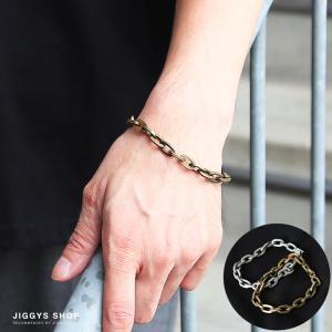 ブレスレット メンズ チェーン ゴールド シルバー アクセサリー