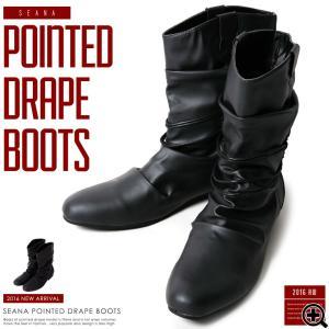 ブーツ メンズ ロングブーツ エンジニアブーツ シューズ 靴...