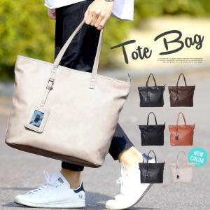 トートバッグ メンズ トート バッグ PUレザー 革 ビジネス オフィス カジュアル 通学 通勤 鞄 カバン 送料無料の画像