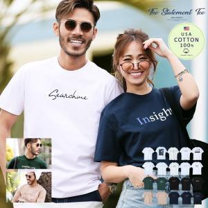 Tシャツ メンズ ロゴプリントTシャツ 半袖Tシャツ サーフ...