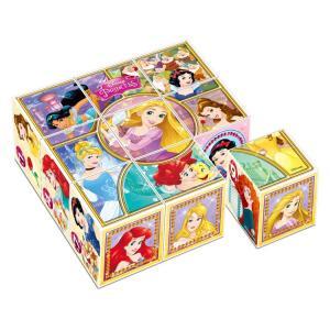キューブパズル APO-13-109 ディズニー すてきなプリンセス  9コマ 【あすつく】|jigsawclub