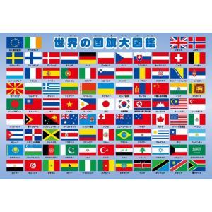 ピクチュアパズル APO-26-606 ピクチュアパズル 世界の国旗大図鑑 63ピース 【あすつく】|jigsawclub
