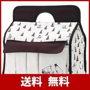 たまひよSHOP ムーミン ベビー おむつストッカー ベビー用品収納 丸ごとすっきり収納ケース|jigyoubu