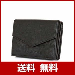 コンパクトな三つ折り財布。必要最低限の収納を可能にした機能的で計算された設計。内側も総レザーで閉じた...