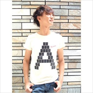 アダチケンゴ オリジナル「A」Tシャツ〜ガール|jiima