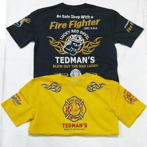 Tedman(テッドマン)半袖Tシャツ2014 ファイヤーテッド|jiima