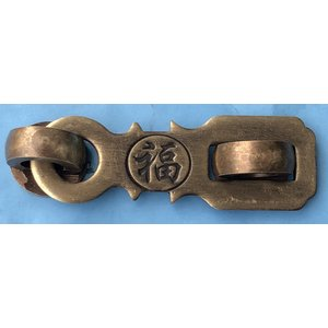 中国伝統装飾金具 ストロング掛金 G151 22×72|jikkenkoubou