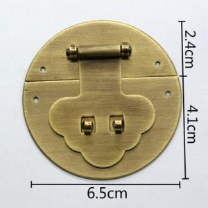 中国伝統装飾金具 木箱掛金 G155 直径65mm|jikkenkoubou