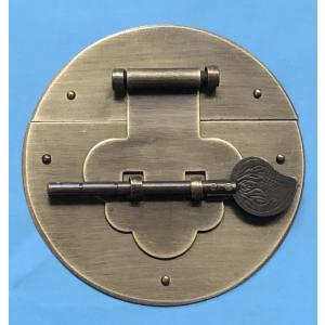 中国伝統装飾金具 木箱掛金 G156 直径100mm|jikkenkoubou
