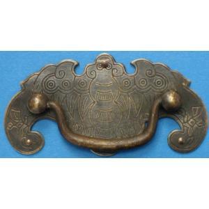 中国明清家具用金具 ハンドル H020 80×38(2個入)|jikkenkoubou