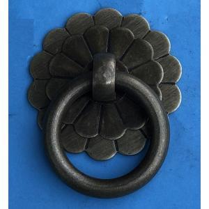 中国明清家具用金具 引き手 H151 φ25mm(2個入)|jikkenkoubou