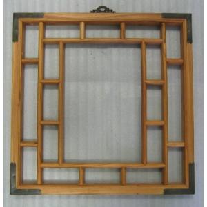 woodフレーム 額縁 壁掛  M002-L 送料無料|jikkenkoubou
