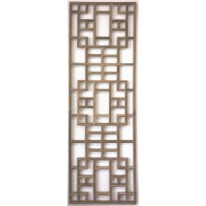 韓国風格子 SR2002-1 透かし建具 生地 430×1428|jikkenkoubou