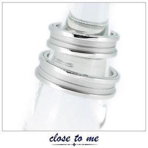 ペアリング 指輪 クロストゥーミー close to me ブルーダイヤモンド シルバー アクセサリー カップル ペア リング SR13-008|jikudo
