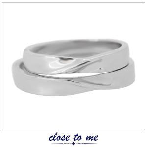 ペアリング 指輪 クロストゥーミー close to me ブルーダイヤモンド ハート シルバー アクセサリー カップル ペア リング SR14-012L SR14-012M|jikudo