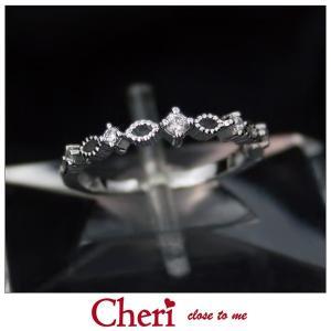 指輪 レディース ブランド シェリ Cheri キュービックジルコニア シルバー ジュエリー アクセサリー リング SR36-009|jikudo