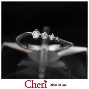 指輪 レディース ブランド シェリ Cheri キュービックジルコニア シルバー ジュエリー アクセサリー リング SR36-012|jikudo