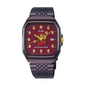 スーパーマリオ 腕時計 メンズ レディース セイコー アルバ SEIKO ALBA×SUPER MARIO コラボレーション ウオッチ ファミコン マリオ ACCK 正規品|jikudo
