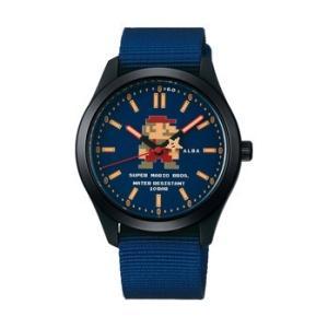 スーパーマリオ 腕時計 メンズ レディース セイコー アルバ SEIKO ALBA×SUPER MARIO コラボレーション ウオッチ アクティブ マリオ ACCK 正規品|jikudo
