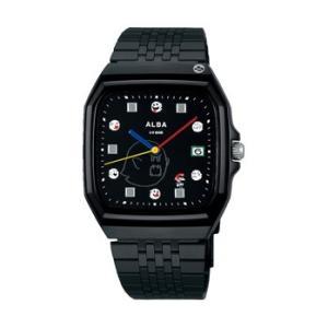 スーパーマリオ 腕時計 メンズ レディース セイコー アルバ SEIKO ALBA×SUPER MARIO コラボレーション ウオッチ スーパーファミコン テレサ ACCK 正規品|jikudo