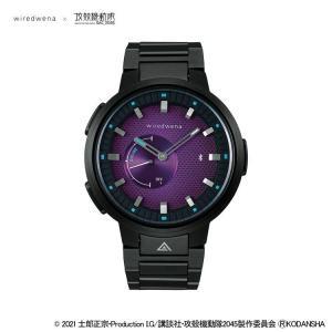 攻殻機動隊 セイコー 腕時計 メンズ ウォッチ ワイアードウェナ SEIKO wiredwena×攻殻機動隊SAC_2045 コラボ限定モデル 草薙素子 AGAB703 限定500本 限定品|jikudo