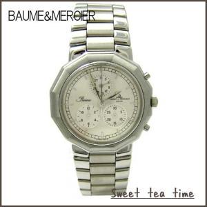 ボーム&メルシエ 腕時計 メンズ BAUME&MERCIER 時計 リビエラ パーペチュアル クォーツ クロノグラフ ウオッチ MOA06451 正規品 送料無料|jikudo