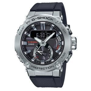 カシオ Gショック CASIO G-SHOCK 腕時計 メンズ ウオッチ G-STEEL カーボンコアガード Bluetooth ソーラー ウォッチ GST-B200 国内正規品 送料無料|jikudo