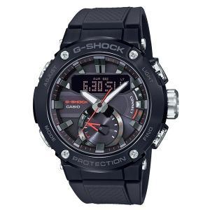 カシオ Gショック CASIO G-SHOCK 腕時計 メンズ ウオッチ G-STEEL カーボンコアガード Bluetooth ソーラー ウォッチ GST-B200B 国内正規品 送料無料|jikudo