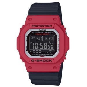 カシオ Gショック CASIO G-SHOCK 腕時計 メンズ ウオッチ Red & Black 電波ソーラー ウォッチ GW-M5610RB 国内正規品|jikudo
