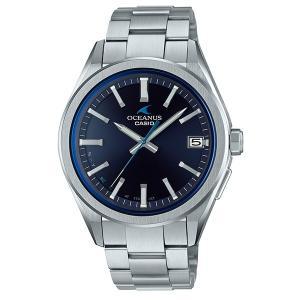 カシオ オシアナス CASIO OCEANUS 腕時計 メンズ ウオッチ CLASSIC LINE クラシックライン Bluetooth(R)搭載 電波ソーラー SmartAccess OCW-T200S 国内正規品|jikudo