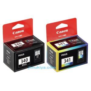 CANON FINE カートリッジ BC-340 ブラック BC-341 3色カラー セット 国内 純正品 【Canon直送品】|jimukiya