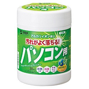 (セット) サンワサプライ ウェットティッシュ (パソコン用) CD-WT1KS 〈10個セット〉 【サンワサプライ直送品】|jimukiya