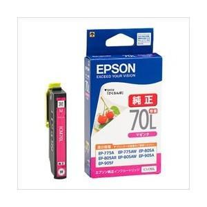 EPSON エプソン 純正 インク カートリッジ  ICM70L  マゼンタ (クリックポスト・定形外郵便)|jimukiya