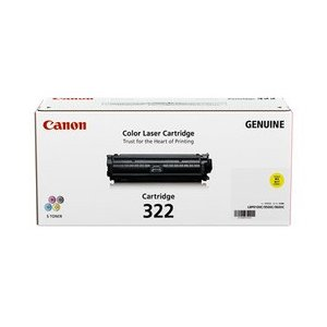 CANON トナーカートリッジ322 イエロー 国内 純正品 【Canon直送品】|jimukiya