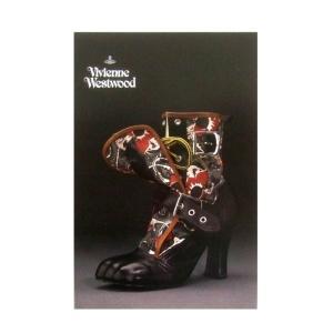 <title>人気の定番 Vivienne Westwood ヴィヴィアンウエストウッド シューズエキシビジョン限定 ポストカード</title>