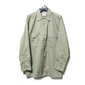 Dickies ディッキーズ M ストア ファッション通販 ワークシャツ ミリタリー
