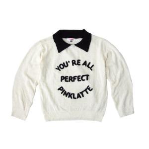 Pinklatte ピンクラテ S オリジナル 襟付き サービス ニットセーター